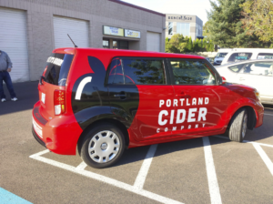 vehicle-wrap-Portland Cider