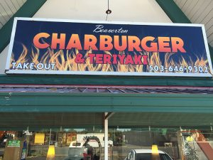 char burger after oregon city signs