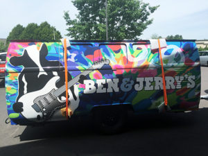 Ben and Jerrys Vehicle Wrap