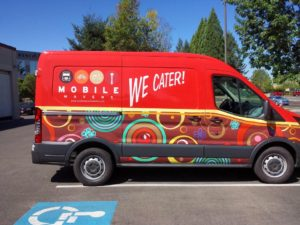 vehicle-wrap-catering Van